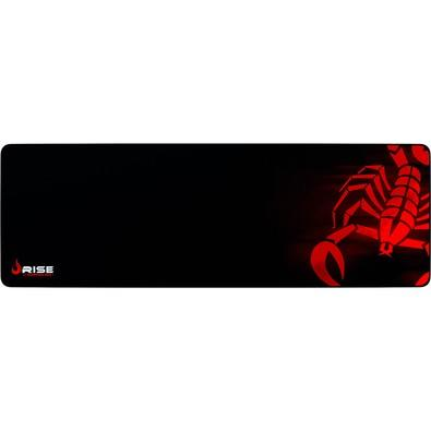 Mousepad Gamer Rise Mode Scorpion Red, Speed, Extra Grande (900x300mm) - RG-MP-06-SR