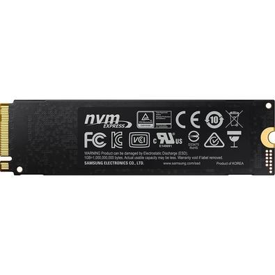 SSD Samsung 970 EVO Plus 500GB, M.2 NVMe, Leitura 3500MB/s, Gravação 3200MB/s - MZ-V7S500B/AM