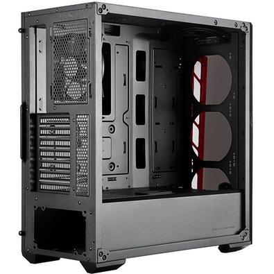 Gabinete Cooler Master MB520 Vermelho MCB-B520-KANN-S00