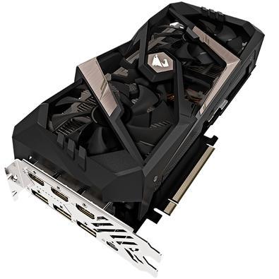 Placa de Vídeo Gigabyte NVIDIA GeForce RTX 2070 8G, GDDR6 - GV-N2070AORUS-8GC