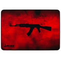 Mousepad Gamer Rise Mode AK47, Speed, Grande (420x290mm), Vermelho - RG-MP-05-AKR