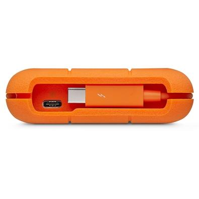 HD LaCie Externo Thunderbolt, 5TB, USB 3.1-C, Clay Orange - STFS5000800