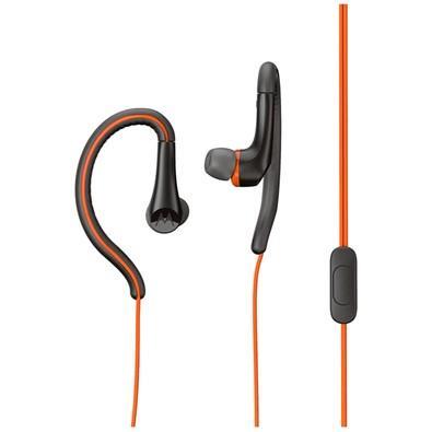 Fone de Ouvido Motorola Earbuds Sport, Intra-Auricular, Laranja