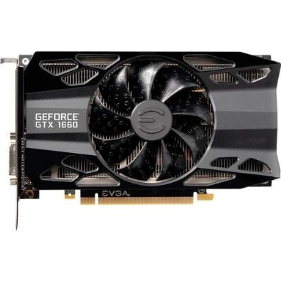 Placa de Vídeo EVGA NVIDIA GeForce GTX 1660 XC Black Gaming 6GB, GDDR5 - 06G-P4-1161-KR