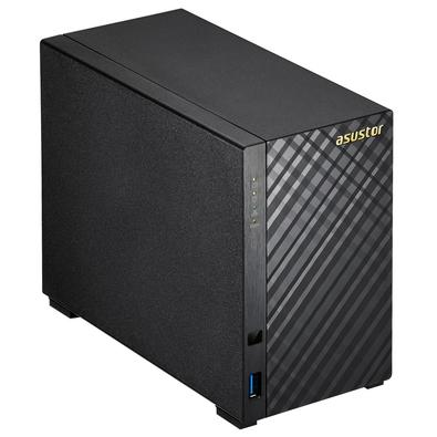 Storage Asustor V2 Marvell NAS 512MB, HD 2TB, 2 Baias - AS1002T2000