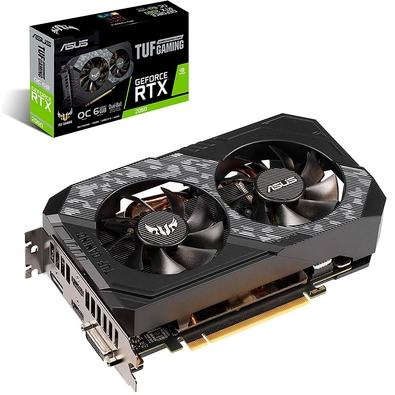 Placa de Vídeo Asus TUF NVIDIA GeForce RTX 2060 6GB, GDDR6 - TUF-RTX2060-O6G-GAMING