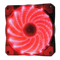 Cooler Fan OEX F20 15 LED Vermelho, 12cm