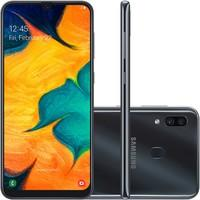 Smartphone Samsung Galaxy A30, 64GB, 16MP, Tela 6...