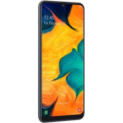 Smartphone Samsung Galaxy A30, 64GB, 16MP, Tela 6.4´, Preto - SM-A305GT/6DL