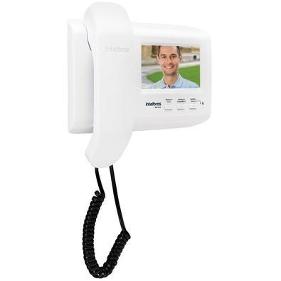 Vídeo Porteiro Intelbras Monitor 4.3´ Branco - IVR 1010