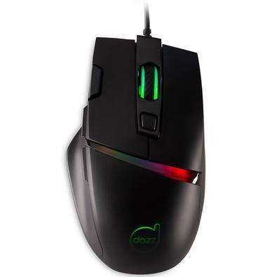 Mouse Gamer Dazz Legacy, RGB, 8 Botões, 6400DPI - 625241