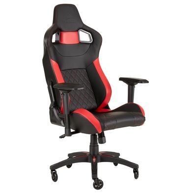 Cadeira Gamer Corsair T1 Race Preta/Vermelha - CF-9010013-WW