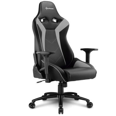 Cadeira Gamer Sharkoon Elbrus 3 Black Grey