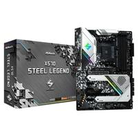 Placa-Mãe Asrock ASRock X570 Steel Legend, AMD AM4, ATX, DDR4