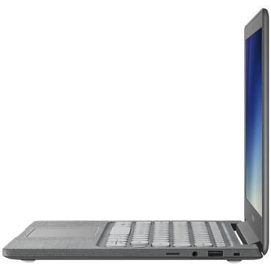 Notebook Samsung Flash F30, Intel Celeron N4000, 4GB, SSD 64GB, Windows 10 Home, 13.3´, Grafite - NP530XBB-AD1BR