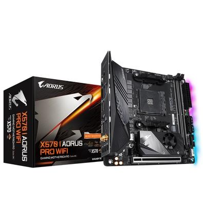 Placa-mãe Gigabyte X570 I Aorus Pro WiFi, AMD AM4, Mini-ITX, DDR4
