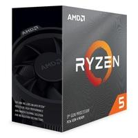 Processador AMD Ryzen 5 3600 Cache 32MB 3.6GHz(4.2GHz Max Turbo) AM4, Sem Vídeo - 100-100000031BOX