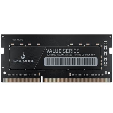 Memória Rise Mode 8GB, 1600MHz, DDR3, Notebook - RM-D3-8G1600N