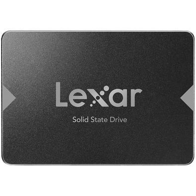 SSD Lexar NS100, 256GB, SATA, Leitura 520MB/s - LNS100-256RB