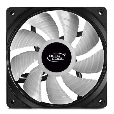Kit com 5 Cooler FAN Deepcool RF 120M, 120mm, RGB - DP-FRGB-RF120-5C-M