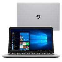 Notebook Positivo Motion C 4500A, Intel Dual-Core, 4GB, 500 GB, 14´, Windows 10 Home , Prata - 3001253