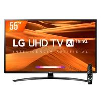 Smart TV LED 55´ 4K LG, 4 HDMI, 2 USB, Bluetooth, Wi-Fi, Active HDR, ThinQ AI - 55UM761C0SB.BWZ