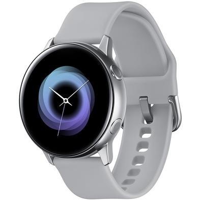 Smartwatch Samsung Galaxy Watch Active, 4GB, Bluetooth, Touchscreen, Prata - SM-R500NZSAZTO