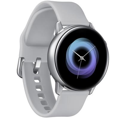 Smartwatch Samsung Galaxy Watch Active, 4GB, Bluetooth, Touchscreen, Prata - SM-R500NZSAZTO