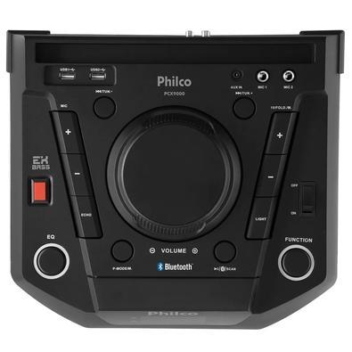 Caixa Acústica Portátil Philco - Bluetooth, Entrada Auxiliar, Bivolt - PCX9000