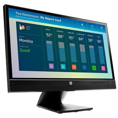 Monitor HP EliteDisplay LED 21.5´, Full HD, DisplayPort, Som Integrado - E220T
