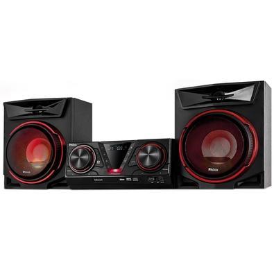 Mini System Philco Bluetooth, Ex Bass, MP3, Entrada Auxiliar, Rádio FM, 500W RMS, Bivolt, Preto - PHS500BT