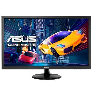 Monitor Gamer Asus 23.6´, Full HD, HDMI/DVI-D/Display Port, Adaptive-Sync/FreeSync, Som Integrado, 1ms - VP247QG