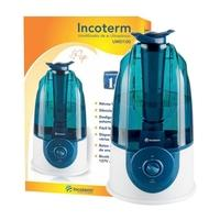 Umidificador de Ar Incoterm Ultrassônico, 3L, Bivolt, Azul - UMD100