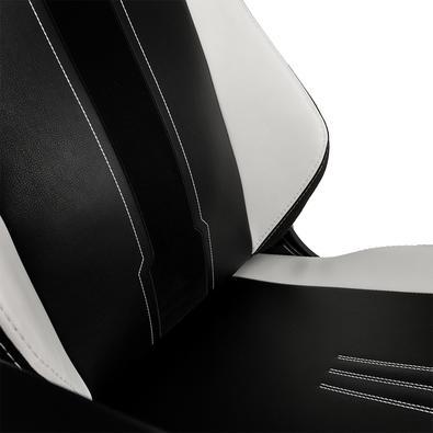 Cadeira Gamer Noblechairs Hero, White Black - NBL-HRO-PU-XIX
