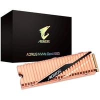 SSD Aorus Gen4 500GB, M.2 NVMe, Leituras: 5000MB/s e Gravações: 2500MB/s -  GP-ASM2NE6500GTTD