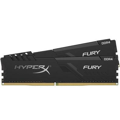 Memória Ram Fury 32gb Kit(2x16gb) Ddr4 2666mhz Hx426c16fb3k2/32 Hyperx