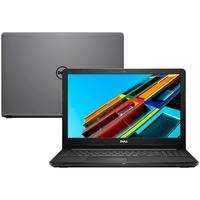 Notebook Dell Inspiron Intel Core i3-7020U, 4GB, HD 1TB, Windows 10, 15.6´, Cinza - i15-3567-A15C