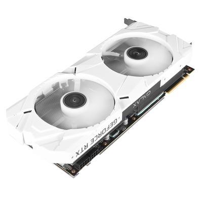 Placa de Vídeo Galax NVIDIA GeForce RTX 2080 White EX  (1-Click OC)  8GB, GDDR6 - 28NSL6MDU8W2