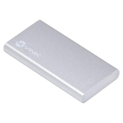 Case Vinik para SSD mSATA, USB 3.1, Tipo C, Alumínio - CS25-A31