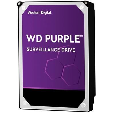 HD WD Purple Surveillance, 10TB, 3.5´, SATA - WD101PURZ