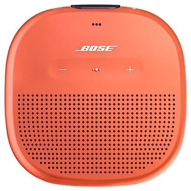 Caixa de Som Portátil Bose Soundlink Micro, Bluetooth, Laranja - 783342-0900
