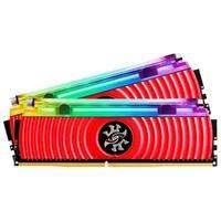 Memória XPG Spectrix D80 RGB 32GB (2x16GB), 3200MHz, DDR4, CL16, Vermelho - AX4U3200316G16-DR80