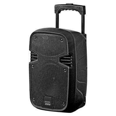 Caixa de Som Amplificadora Multilaser, Driver 8, 200W RMS Bluetooth + Microfone com Fio - SP329