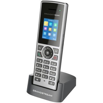 Telefone IP Grandstream sem Fio DECT, 10 Contas SIP, 10 Linhas, Prata - DP722