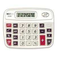 Calculadora Eletrônica Hoopson, 8 Dígitos, Teclas com Som - PS-9838