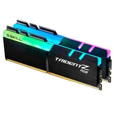 Memória G.Skill Trident Z RGB, 16GB (2x8GB), 2666MHz, DDR4, CL18 - F4-2666C18D-16GTZR