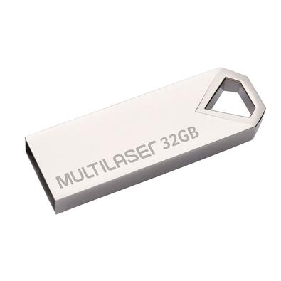 Pen Drive Multilaser Diamond, 32GB, Metálico - PD851