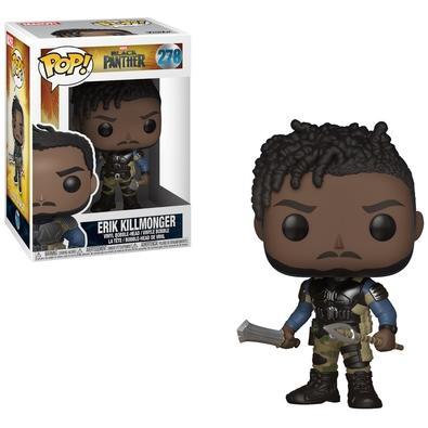 Funko POP! Erik Killmonger, Marvel Black Phanter - 278