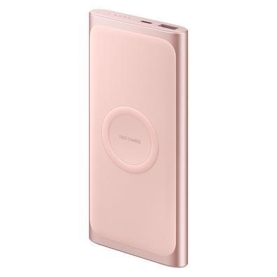 Carregador Portátil Samsung USB Tipo C, 10.000 mAh, Rosé - EB-U1200CPPGBR