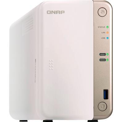 Storage QNAP NAS, Sem Disco, 2 Baias - TS-251B-2G-US
